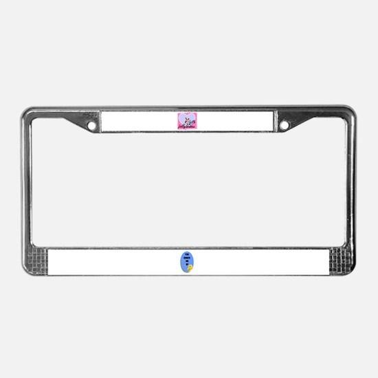 LOVE JELLYBEANS License Plate Frame