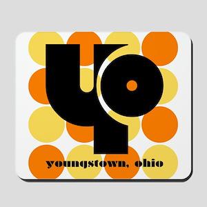 YO! Yellow/Orange Mousepad