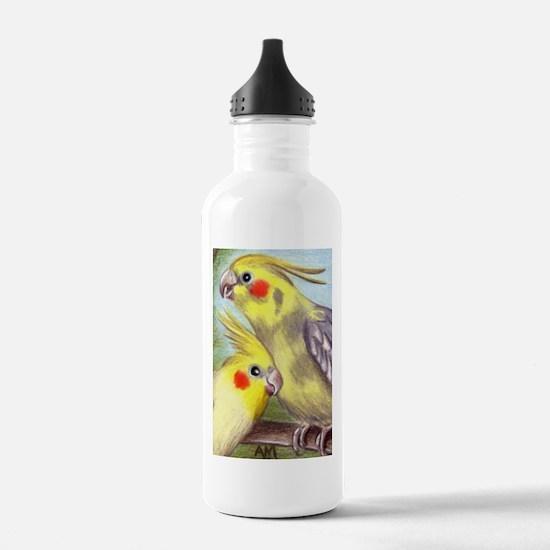 COCKATIELS Water Bottle