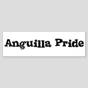 Anguilla Pride Bumper Sticker