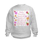 Girls' Role Model Sweatshirt