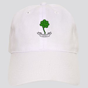 7 leaf clover - May fortune be ever in your fa Cap