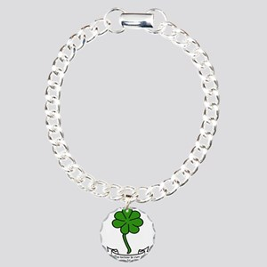 7 leaf clover - May fort Charm Bracelet, One Charm