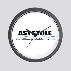 Asystole Wall Clock