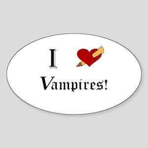 I Slay Vampire Sticker