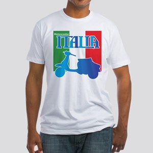 Motoscooter Italia Fitted T-Shirt