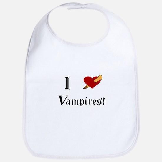 I Slay Vampires Baby Bib