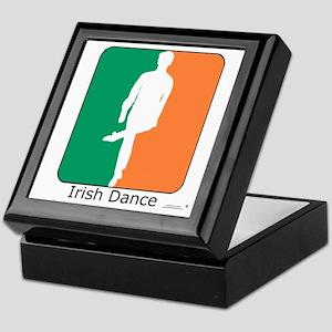 Irish Dance Tricolor Boy Keepsake Box