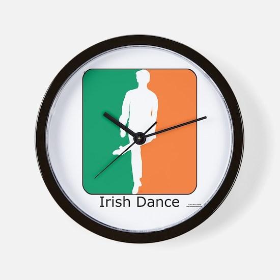 Irish Dance Tricolor Boy Wall Clock