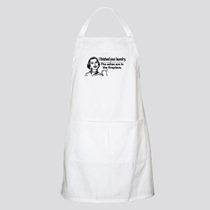 Your laundry is finished... BBQ Apron