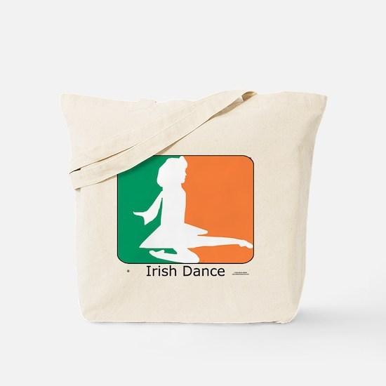 Irish Dance Tricolor Girl Tote Bag
