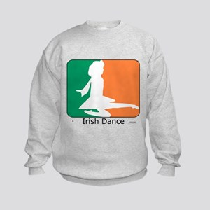 Irish Dance Tricolor Girl Kids Sweatshirt