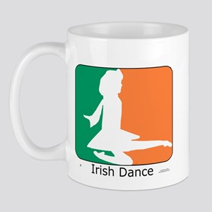 Irish Dance Tricolor Girl Mug