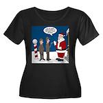 Scout Or Women's Plus Size Scoop Neck Dark T-Shirt
