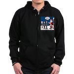 Scout Orienteering Zip Hoodie (dark)