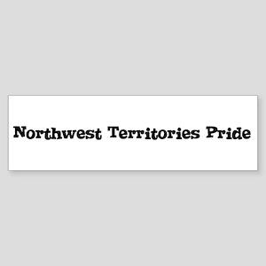 Northwest Territories Pride Bumper Sticker