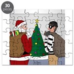 Santa and a Robber Puzzle