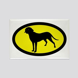Treeing Tennessee Brindle Rectangle Magnet