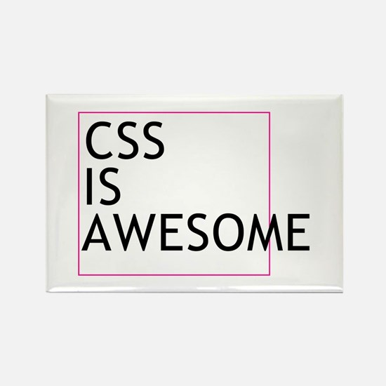 CSS is Awesome Rectangle Magnet