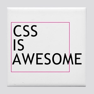 CSS is Awesome Tile Coaster