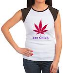 420 Chick Women's Cap Sleeve T-Shirt