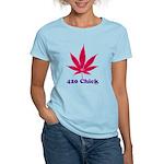 420 Chick Women's Light T-Shirt