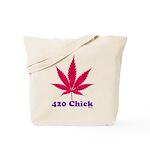 420 Chick Tote Bag