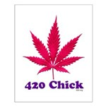 420 Chick Small Poster