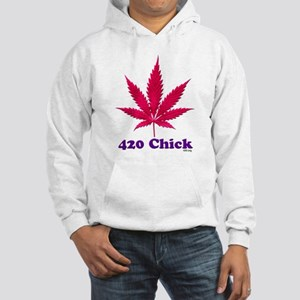 420 Chick Sweatshirt Hoodie