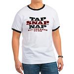 Tap Snap or Nap BJJ Ringer T