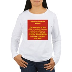 SOCIALIST EDUCATION AGENDA T-Shirt