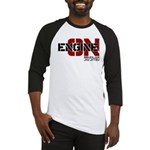 Engine On Jiu Jitsu Baseball Jersey