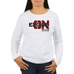 Engine On Jiu Jitsu Women's Long Sleeve T-Shirt