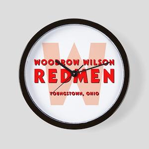 Wilson Redmen Wall Clock