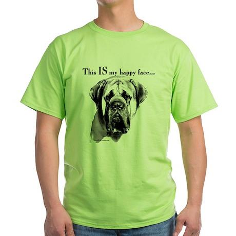 Mastiff 137 Green T-Shirt