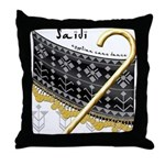Saidi Throw Pillow