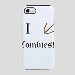 I destory Zombies iPhone 7 Tough Case