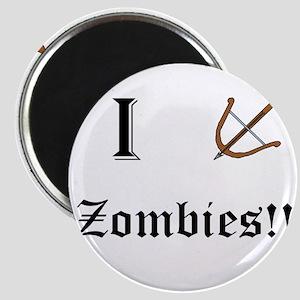 I destory Zombies Magnets