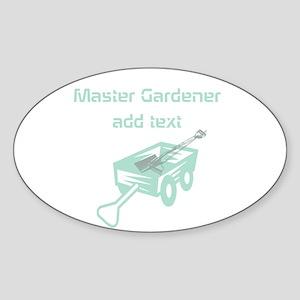 Cool Mint Master Gardener Sticker
