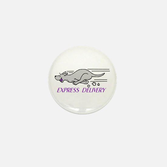 Funny Flyball Mini Button