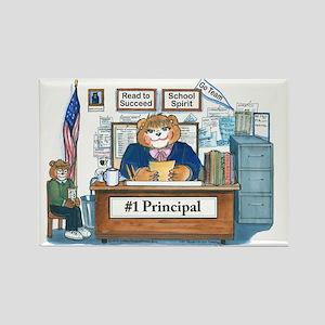 Female Principal Rectangle Magnet