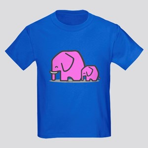 Elephants Kids Dark T-Shirt