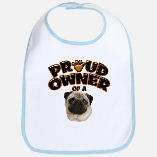 Proud Owner of a Pug Bib