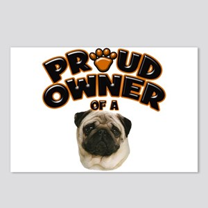 Proud Owner of a Pug Postcards (Package of 8)