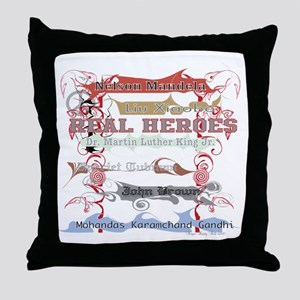 Real Heroes Throw Pillow