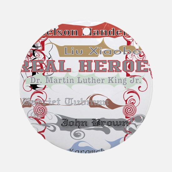 Real Heroes Ornament (Round)