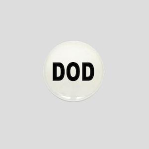 DOD Department of Defense Mini Button