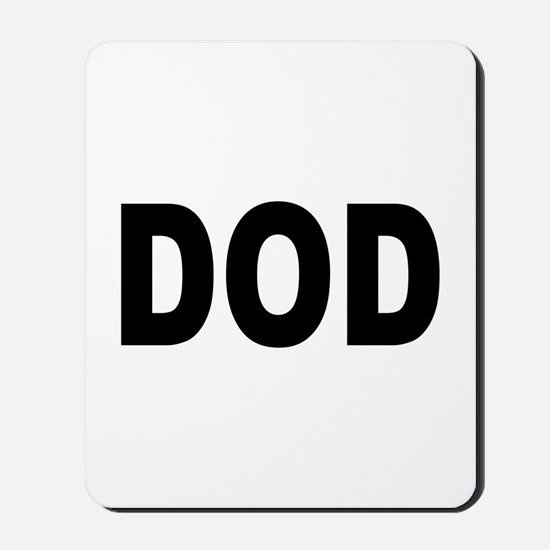 DOD Department of Defense Mousepad