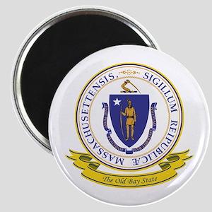 Massachusetts Seal Magnet