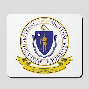 Massachusetts Seal Mousepad